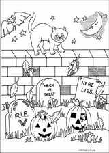 Halloween coloring page (051)
