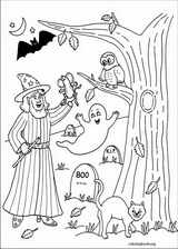 Halloween coloring page (058)