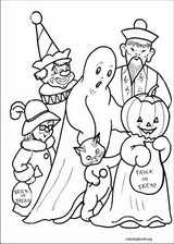 Halloween coloring page (068)