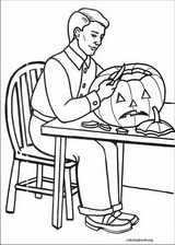 Halloween coloring page (081)