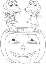 Halloween coloring page (094)
