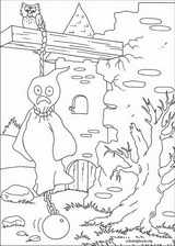 Halloween coloring page (095)