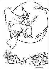 Halloween coloring page (098)