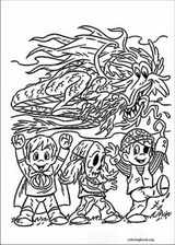 Halloween coloring page (138)