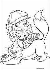 Holly Hobbie coloring page (034)
