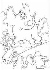Horton coloring page (003)