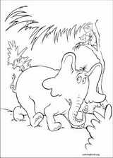 Horton coloring page (004)