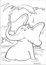 Horton coloring page (006)