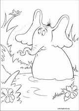 Horton coloring page (007)