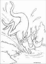 Horton coloring page (021)