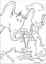 Horton coloring page (024)