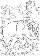 Horton coloring page (025)