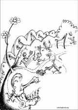 Horton coloring page (050)