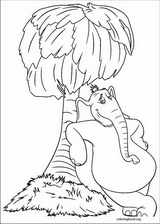 Horton coloring page (066)