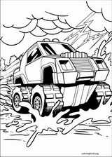 Hot Wheels coloring page (004)