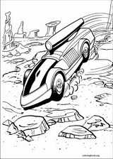 Hot Wheels coloring page (007)