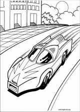 Hot Wheels coloring page (008)
