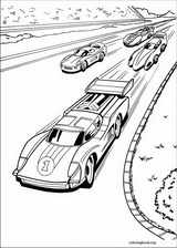 Hot Wheels coloring page (009)