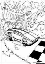 Hot Wheels coloring page (010)