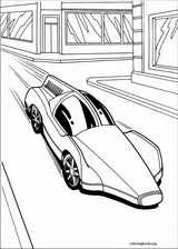 Hot Wheels coloring page (013)