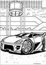 Hot Wheels coloring page (014)