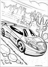 Hot Wheels coloring page (016)