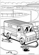 Hot Wheels coloring page (017)