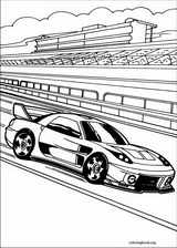 Hot Wheels coloring page (018)