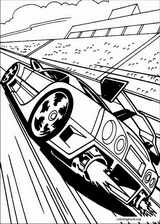 Hot Wheels coloring page (020)