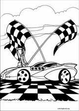 Hot Wheels coloring page (021)