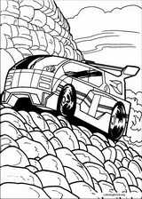 Hot Wheels coloring page (022)