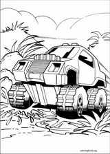 Hot Wheels coloring page (024)
