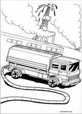 Hot Wheels coloring page (025)