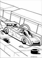 Hot Wheels coloring page (026)