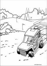 Hot Wheels coloring page (030)