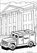 Hot Wheels coloring page (031)