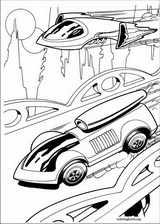Hot Wheels coloring page (032)