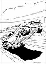 Hot Wheels coloring page (037)