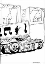 Hot Wheels coloring page (040)