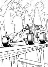 Hot Wheels coloring page (041)