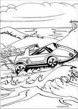 Hot Wheels coloring page (042)