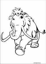 Ice Age coloring pages ColoringBookorg