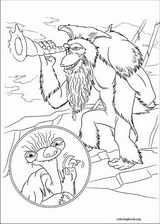 Ice Age : Continental Drift coloring page (001)