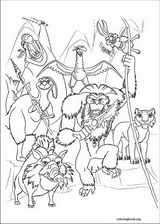 Ice Age : Continental Drift coloring page (006)