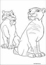 Ice Age : Continental Drift coloring page (008)