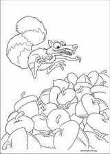 Ice Age : Continental Drift coloring page (012)