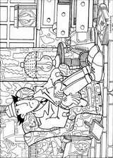 Inspector Gadget coloring page (005)