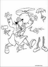 Inspector Gadget coloring page (006)