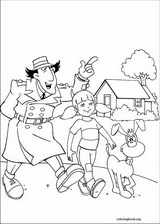 Inspector Gadget coloring page (015)