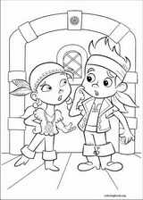 Jake And The Never Land Pirates coloring page (022)